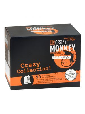 Crazy Monkey Condoms 50er